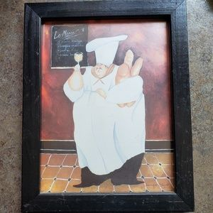 8x10 Wall Art of French Chef